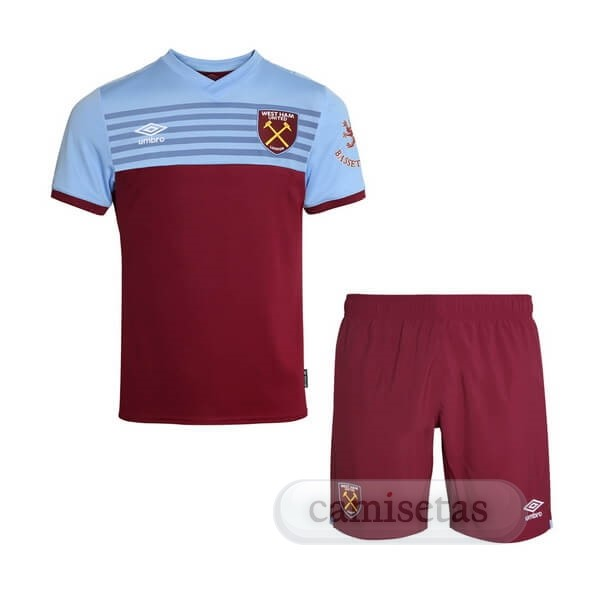 Futbol Barata umbro Casa Ensemble Niños West Ham United 2019 2020 Rojo