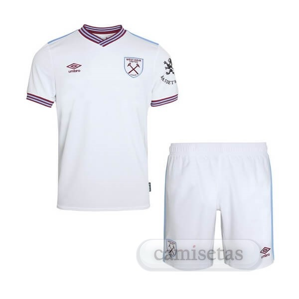 Futbol Barata umbro Segunda Ensemble Niños West Ham United 2019 2020 Blanco